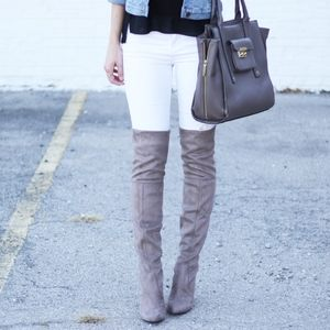 Steve Madden Rocking taupe boots